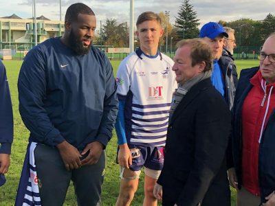 Rugby – Coup D'envoi Du Match Saint-Denis/Beauvais