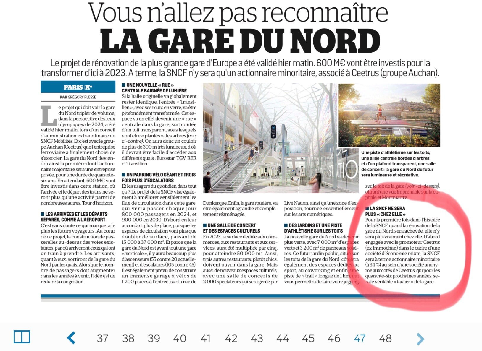 Privatisation De La Gare Du Nord