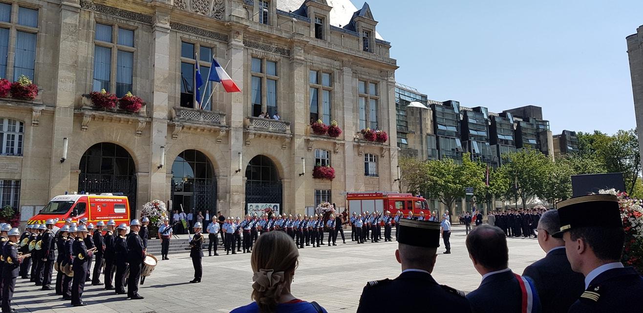 Passation De Commandement Des Pompiers