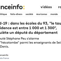 Mon Interview Sur France Info à Propos De La Situation Covid En Seine-Saint-Denis