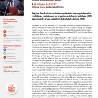 Régime Des Droits De Mutation Applicables Aux Acquisitions Immobilières Réalisées Par Un Organisme De Foncier Solidaire (OFS) Dans Le Cadre D'une Opération De Bail Réel Solidaire (BRS)
