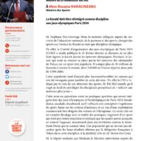 Karaté Aux Jeux Olympiques Paris 2024